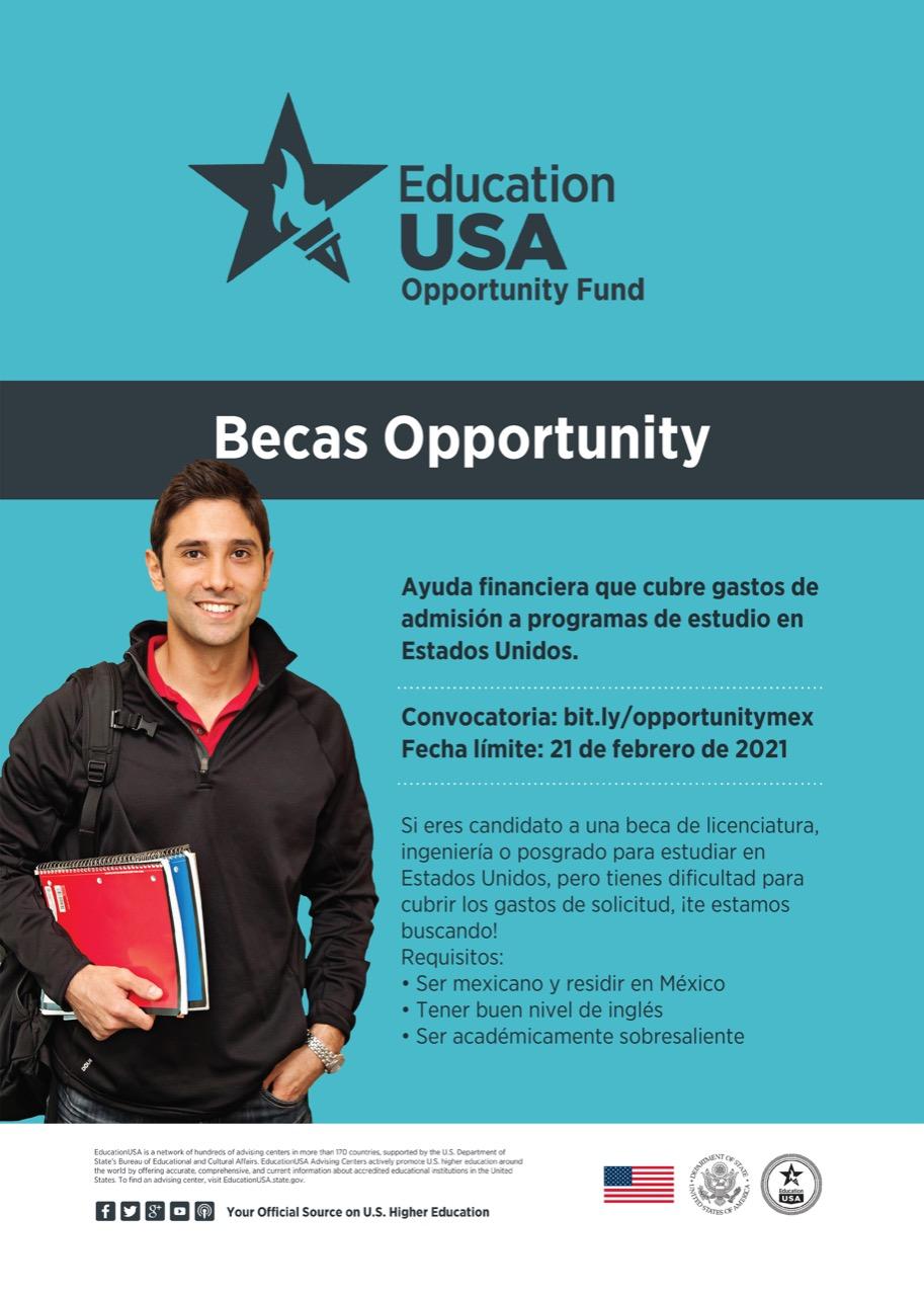 "Centro USA Tlaxcala convoca a jóvenes a participar por la beca ""Opportunity Funds"""