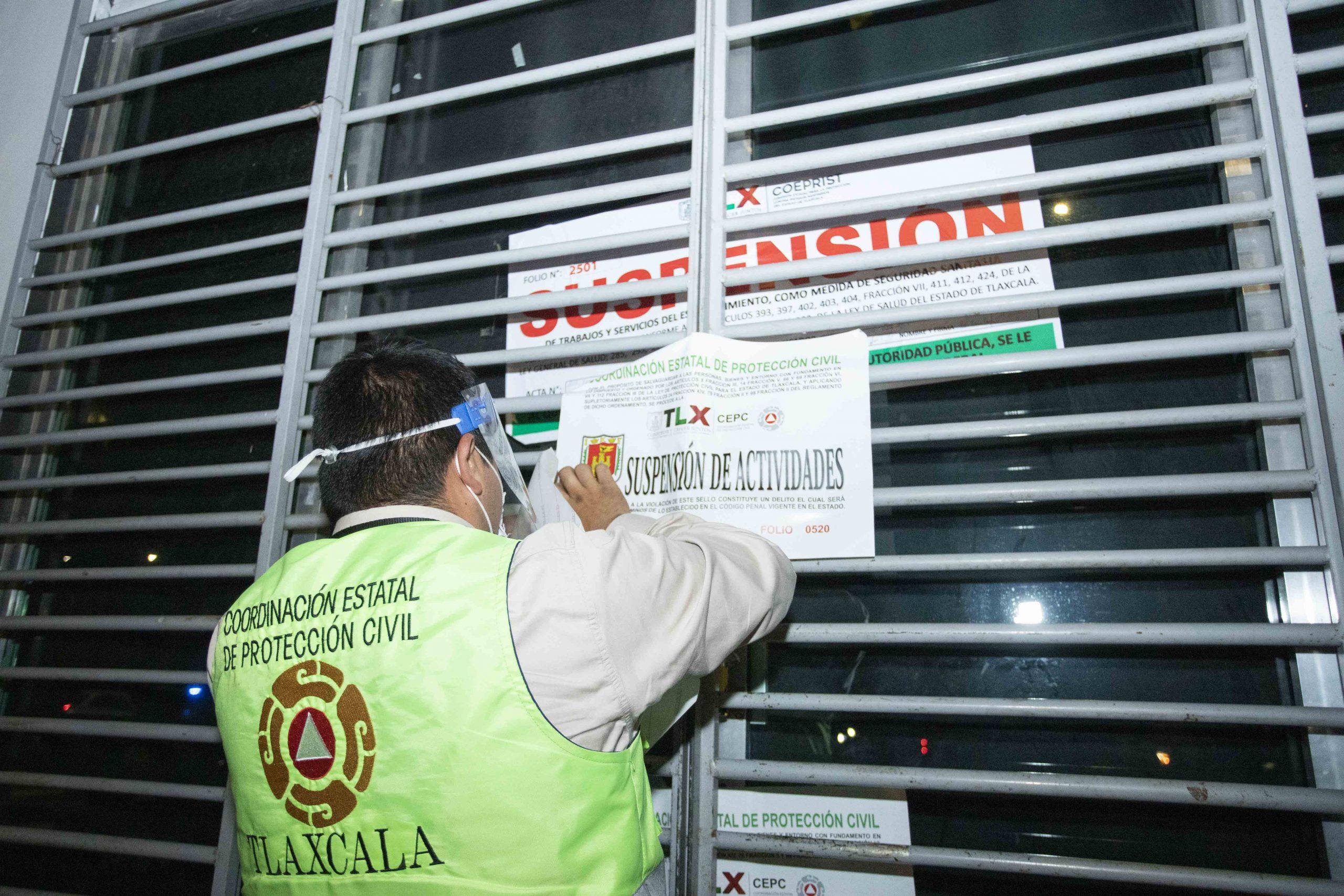 Desde Tlaxcala: Presentan CEPC y COEPRIST resultados del operativo coordinado para suspender actos masivos.