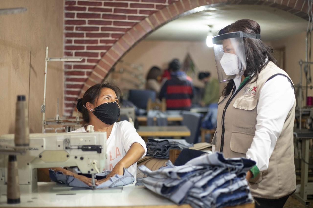 """Desde Tlaxcala: Programa """"Supérate"""" apoya a beneficiarias de San Pablo del Monte"""