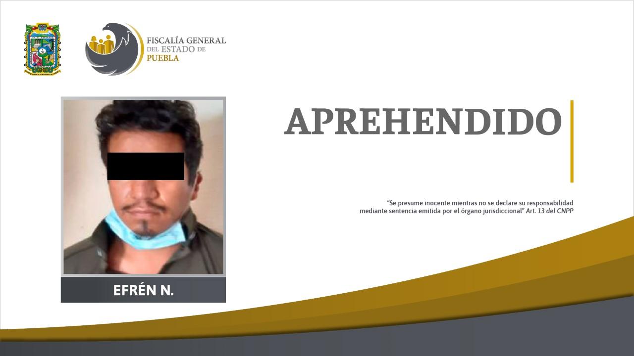Cae en Chiapas Efrén, supuesto responsable del feminicidio de la policía estatal, Susana Zerón