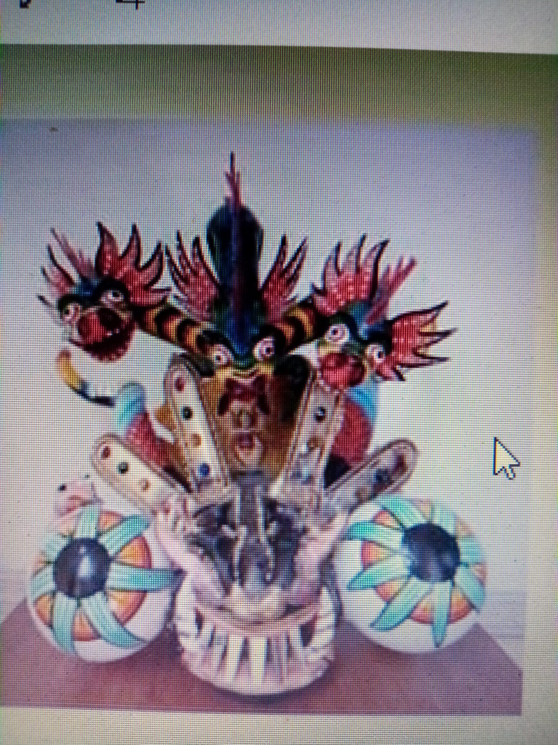 Máscaras del Carnaval de Oruro en Bolivia