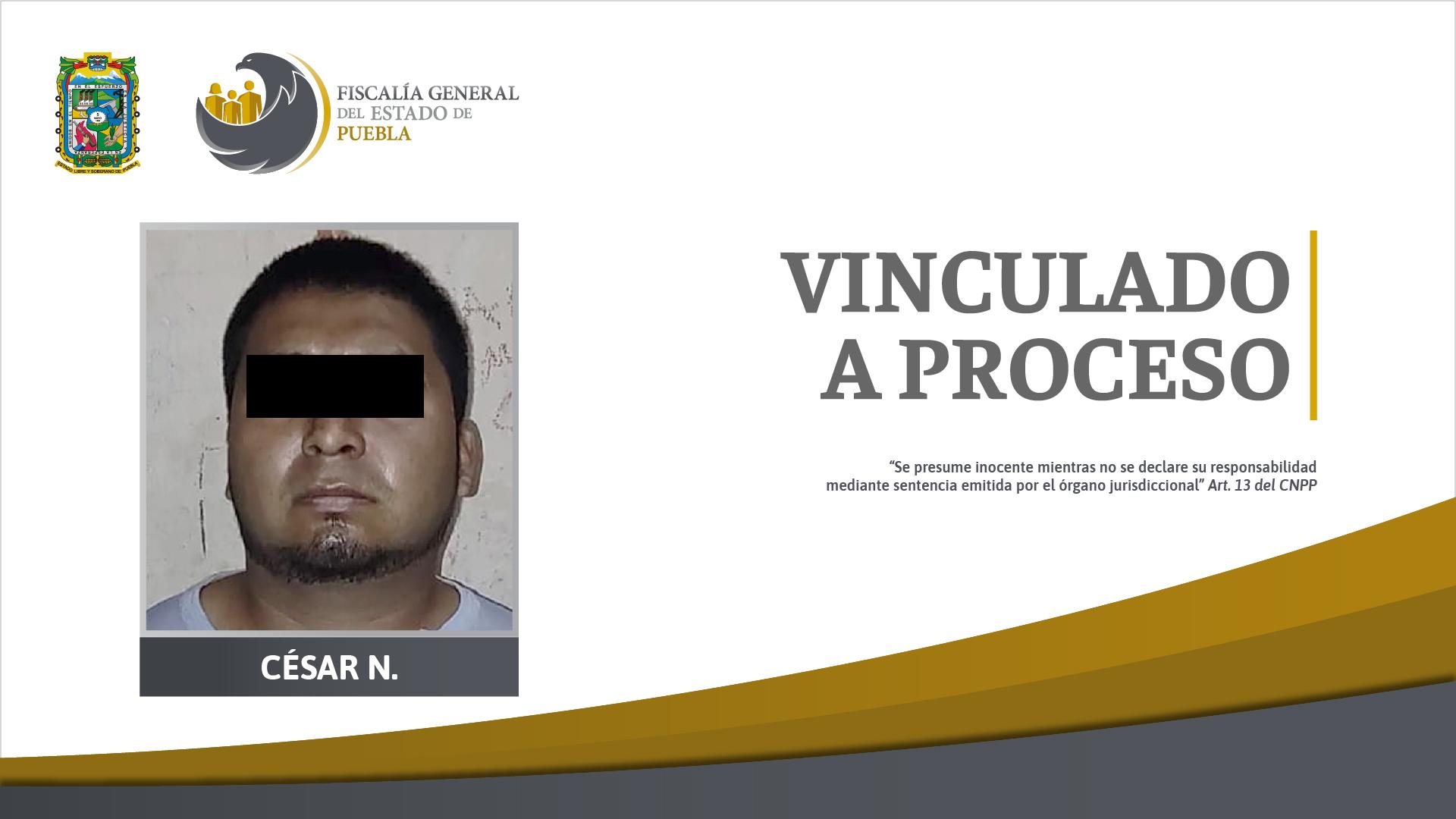 Vinculado a proceso por violación y robo agravado en Hueytamalco