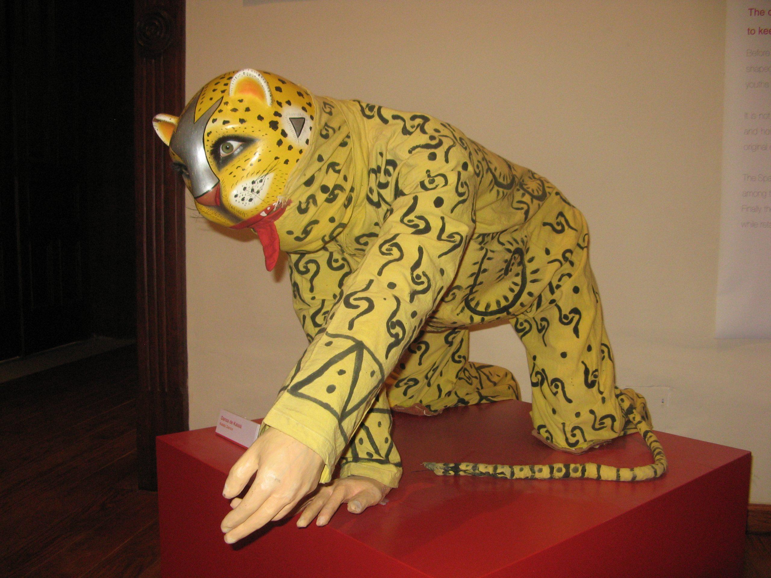 Danza de Kalala en el Museo Nacional de la Máscara