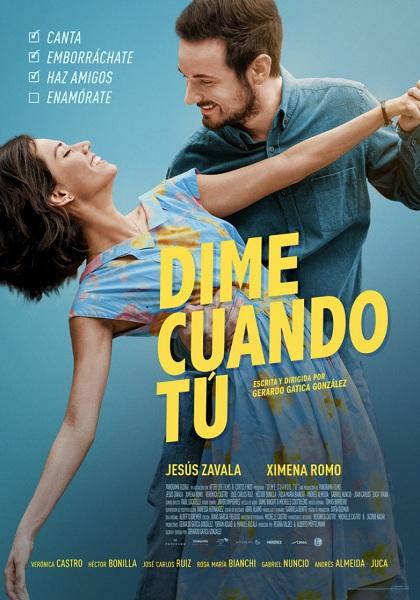 """La película """"Dime cuando tú"""" llegó a las salas de cine de Puebla"""