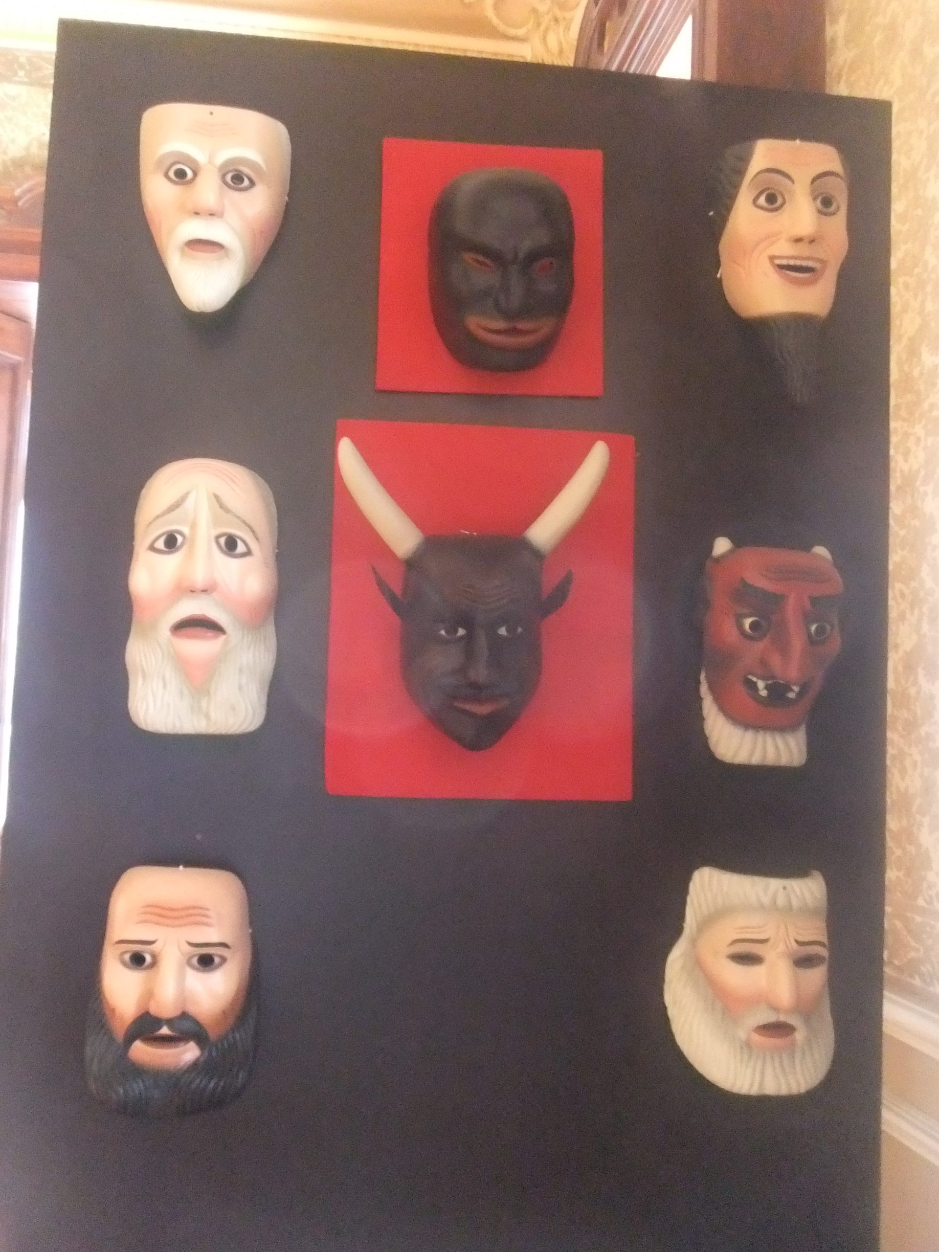 Máscaras de la Judea en Purísima de Bustos, Guanajuato