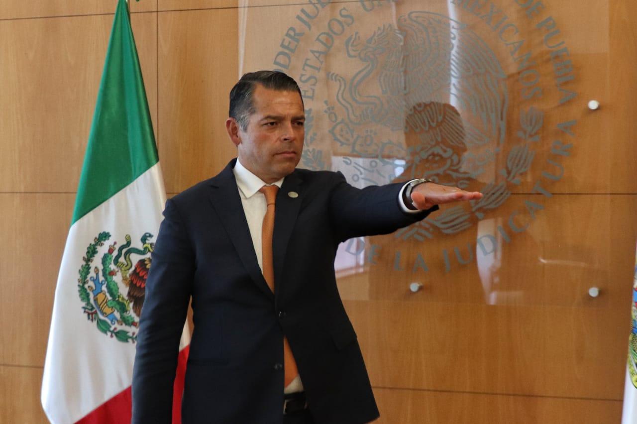 En histórico proceso el Magistrado Héctor Sánchez es electo Presidente del Tribunal Superior de Justicia del Estado  de Puebla y del Consejo de La Judicatura  por unanimidad de votos