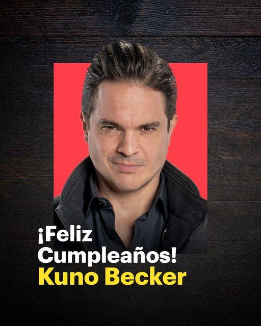 """Elenco y producción de """"Fuego Ardiente"""" festejan a Kuno Becker por su cumpleaños"""