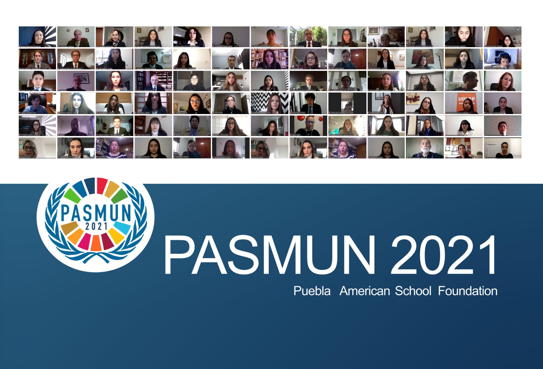 UDLAP presente en PASMUN 2021