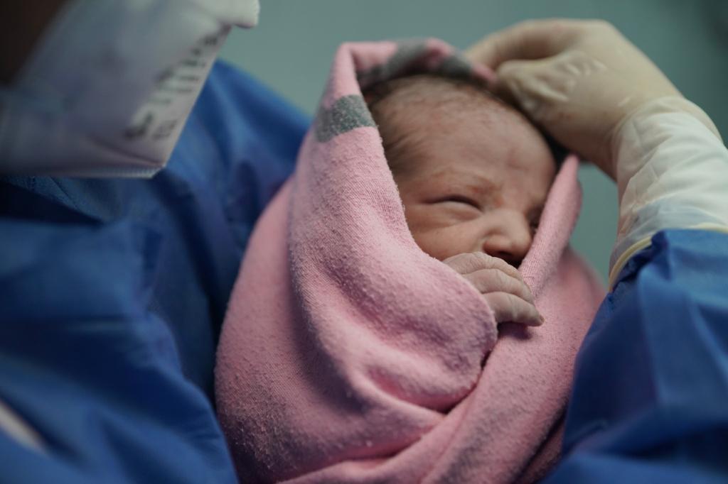 Nació en la CdMex en Tizapan San Ángel el primer bebé del IMSS del 2021