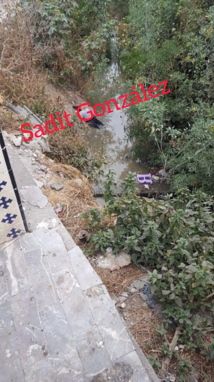 Presuntamente en estado de ebriedad, mujer cayó a una barranca en Cuautlancingo