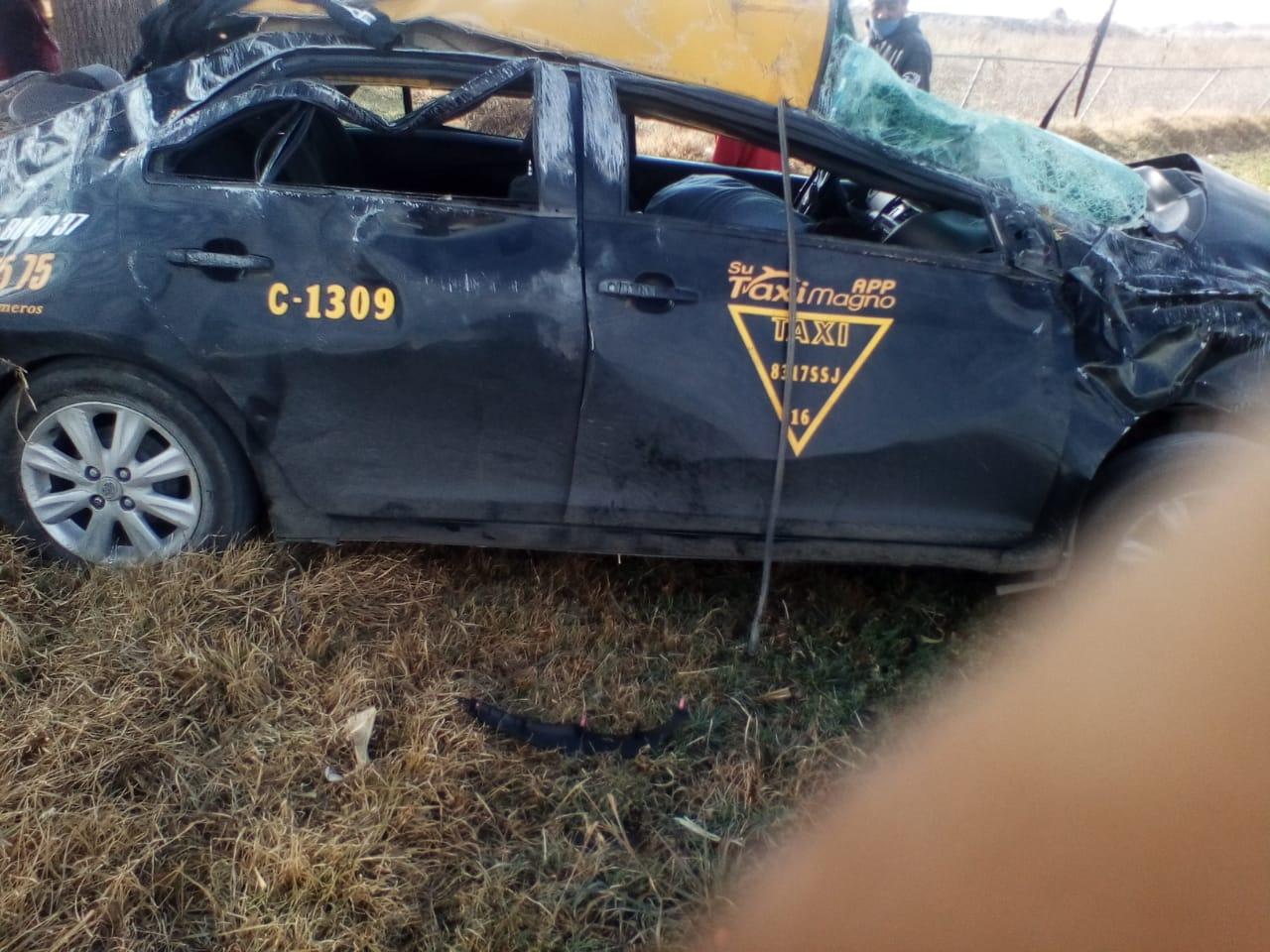Una menor muerta y dos lesionados por accidente en San José Chiapa