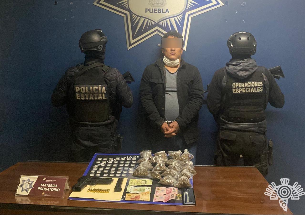 """Captura Policía Estatal a presunto sicario de """"El Toñín"""""""