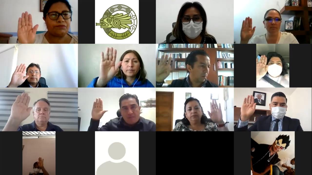Desde San Andrés Cholula: Cabildo toma protesta a las autoridades de la delegación Atlixcáyotl