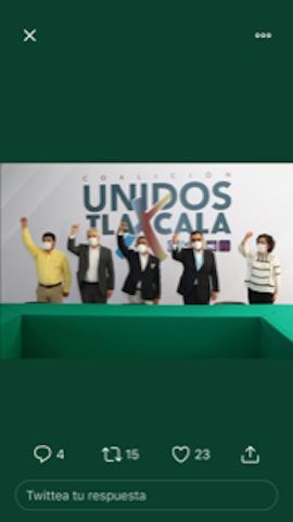 Anabell Ávalos reconoce a la coalición Unidos por Tlaxcala