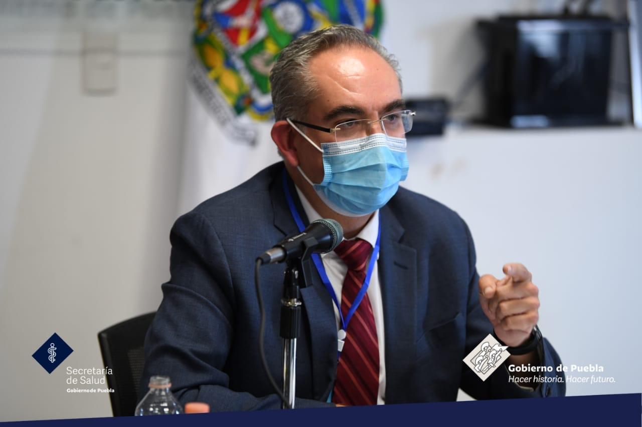 Garantizados los servicios de salud en el estado de Puebla: Martínez García