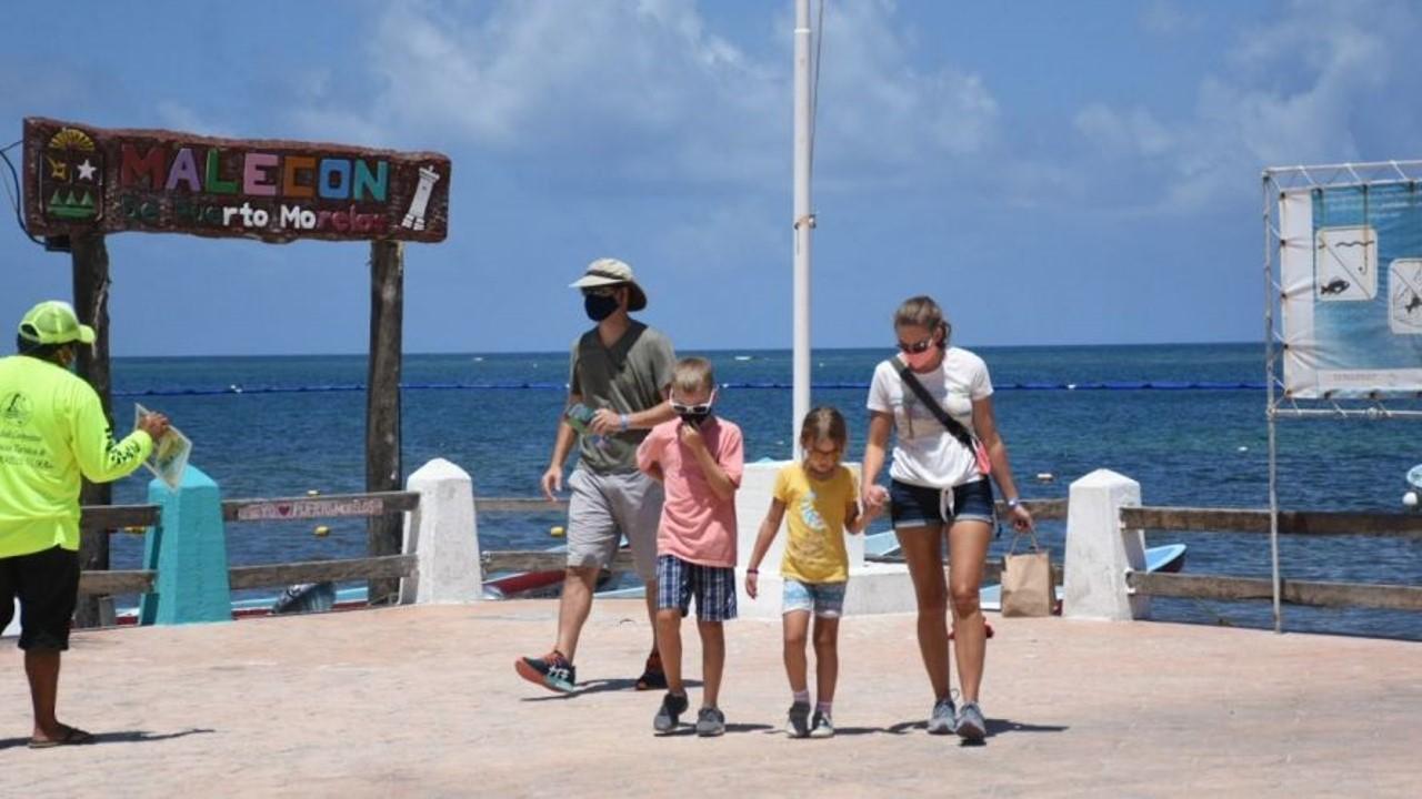 Durante abril de 2021 ingresaron al país 4,185,067 visitantes, de los cuales 2,325,824 fueron turistas internacionales