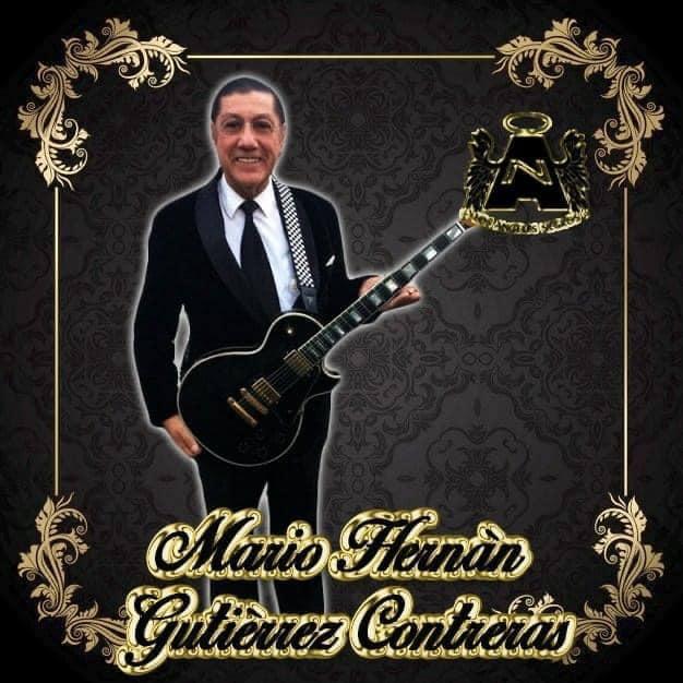 Trascendió a la eternidad Mario Gutiérrez, fundador y guitarrista de Los Ángeles Negros
