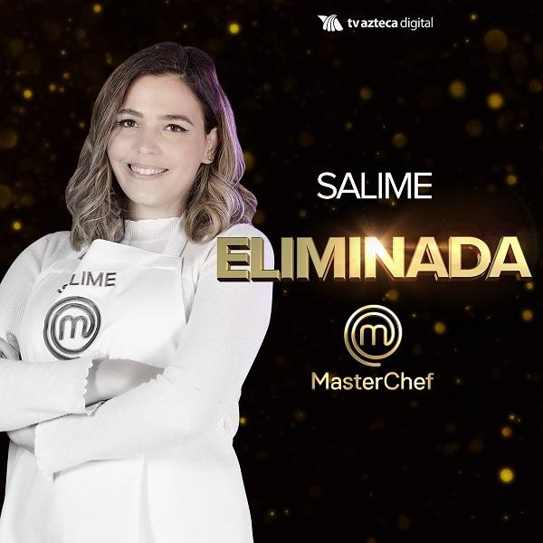 """Salime fue la décima eliminada en """"MasterChef México"""" octava temporada"""
