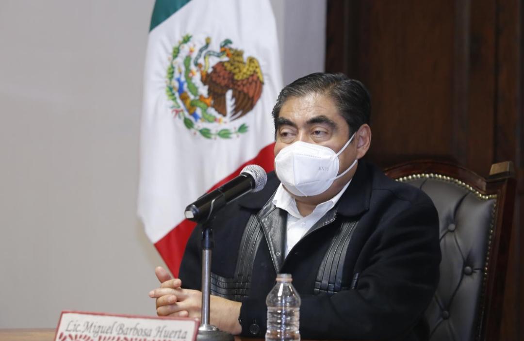 Video desde Puebla: Gobernador Barbosa se pronunció por castigar con severidad a los violadores