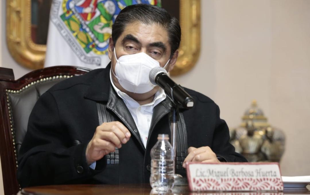 Video desde Puebla: Se requieren reformas para la constitución de empresas ante notario, señaló el gobernador Barbosa