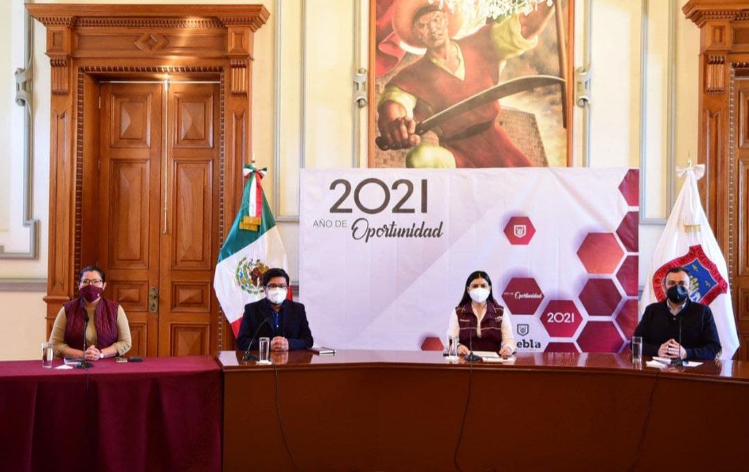 Presidenta municipal de Puebla garantiza estabilidad institucional en medio del clima político
