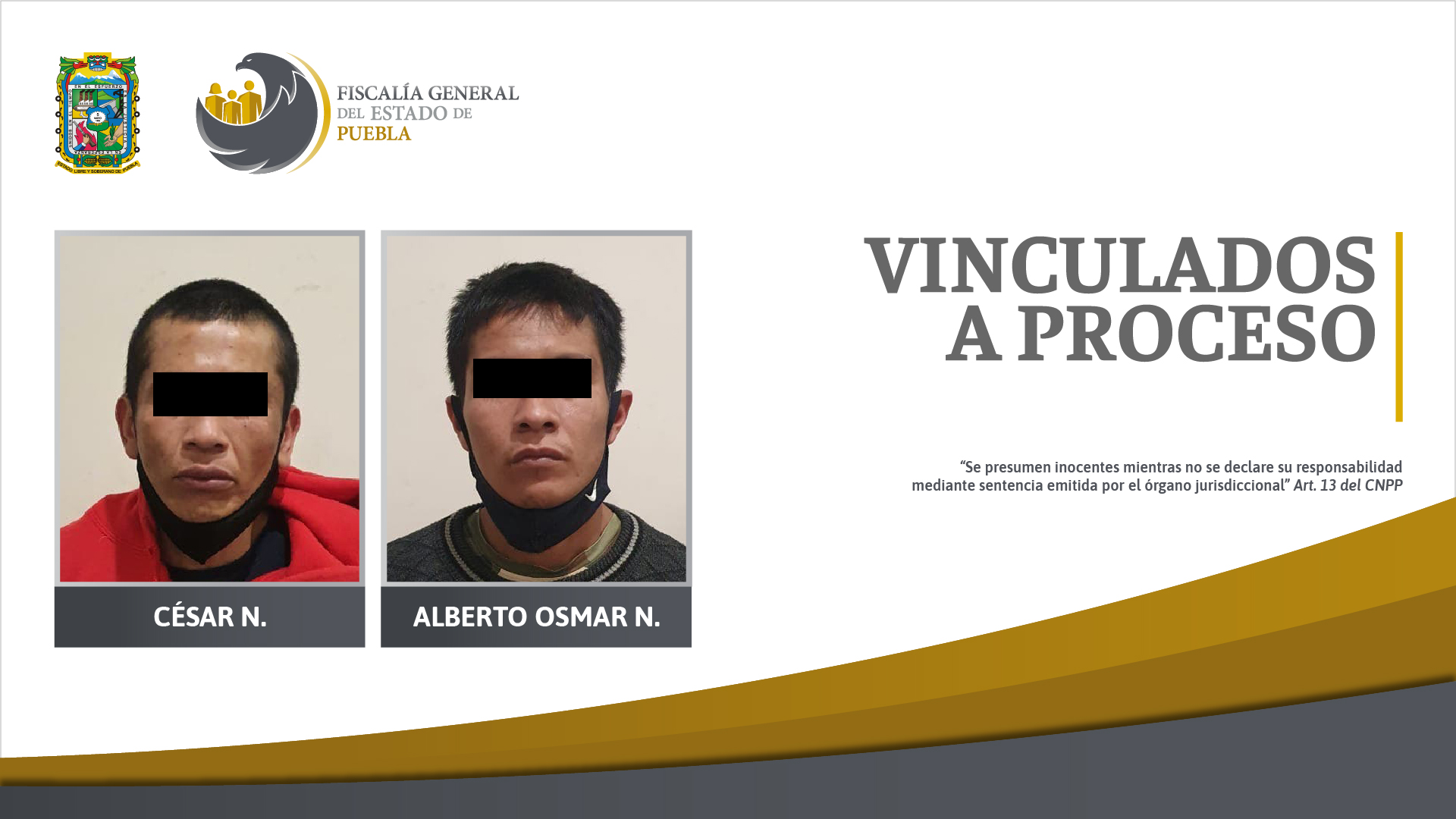 Detenidos en cateo de San Bartolo están vinculados a proceso