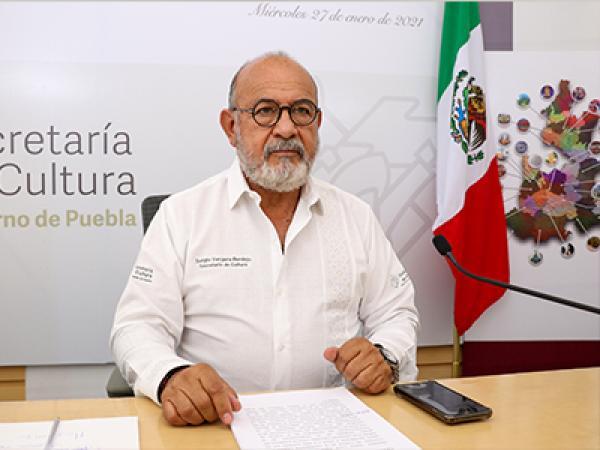 Refuerza Gobierno del Estado difusión y preservación de la cultura: Sergio Vergara