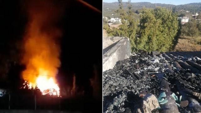 Una chimenea encendida presuntamente fue la causa del incendio en propiedad de magistrado Fredy Eraso