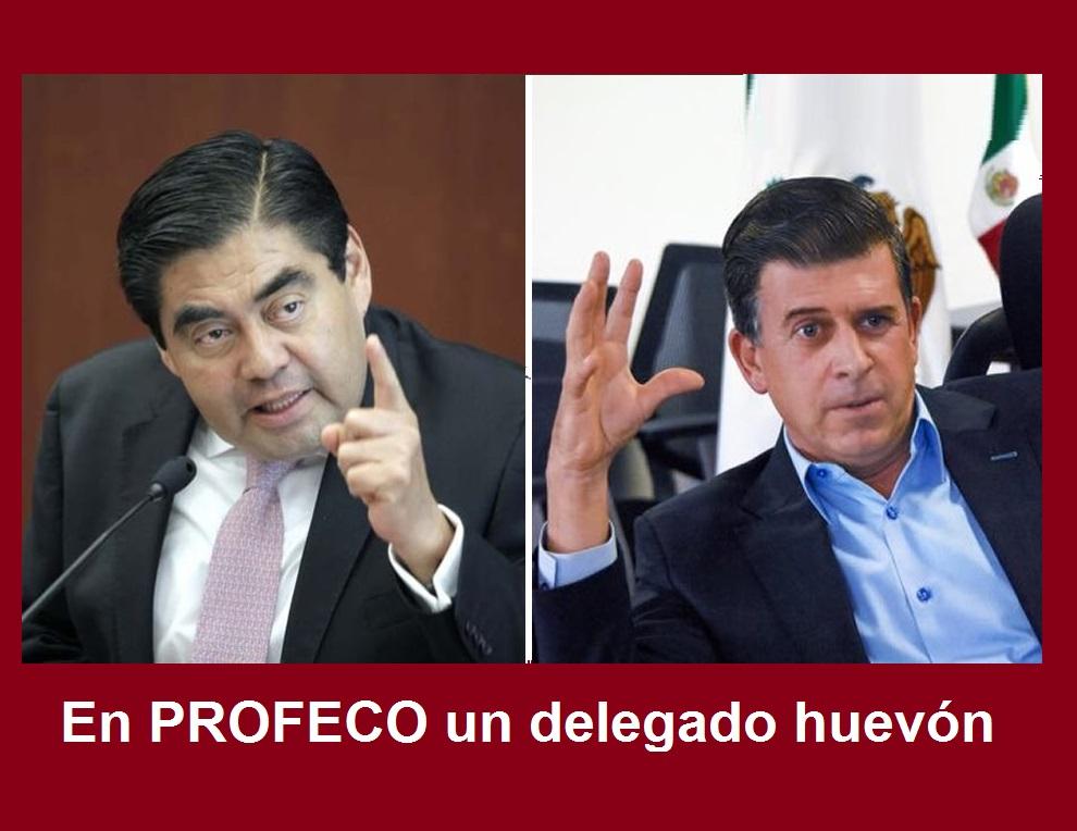 En Profeco un delegado huevón: Rodolfo Herrera Charolet