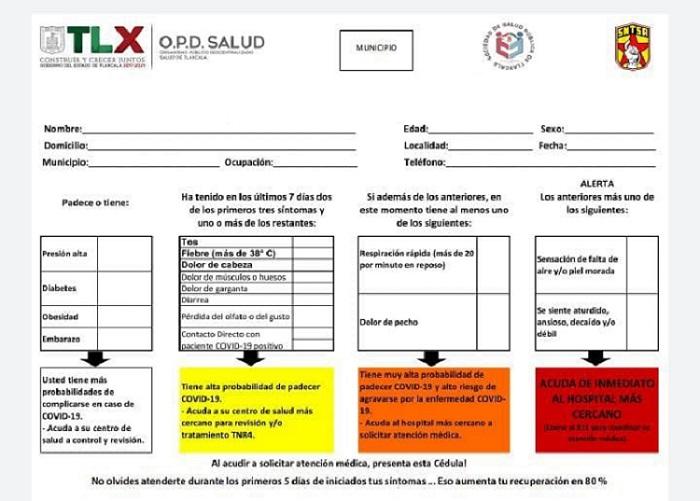 Desde Tlaxcala: Refuerza SESA medidas preventivas por Covid-19 entre trabajadores de la dependencia.