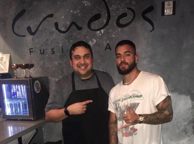 """Edixon Hernández, el chef-artista que crea """"obras de arte comestibles"""""""