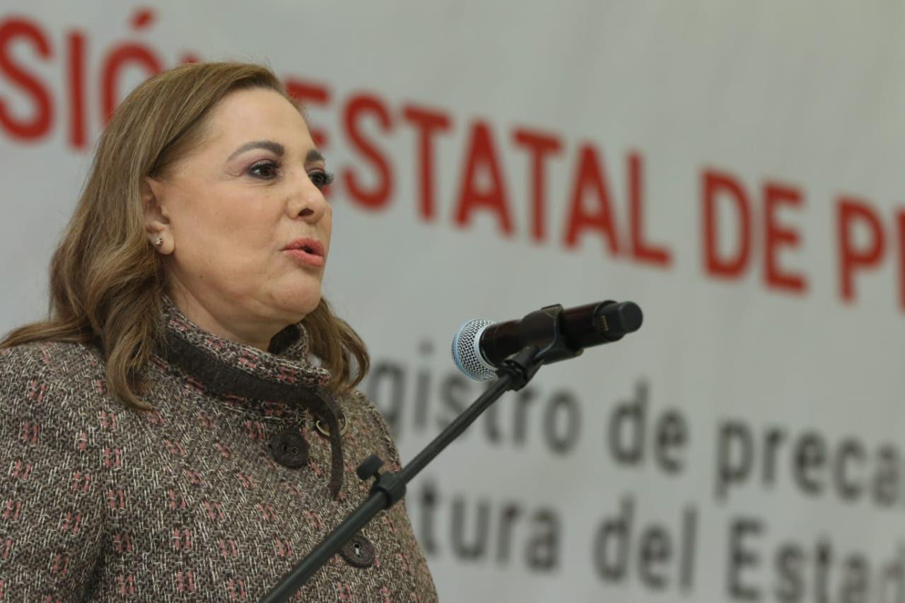 Se registra Graciela Ortiz como precandidata del PRI a la gubernatura de Chihuahua