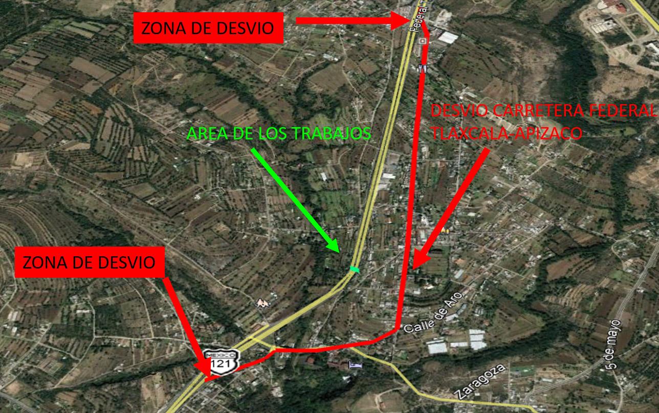 Reprograma SECODUVI colocación de trabes del puente peatonal en Atlihuetzia para el sábado 20 de febrero.