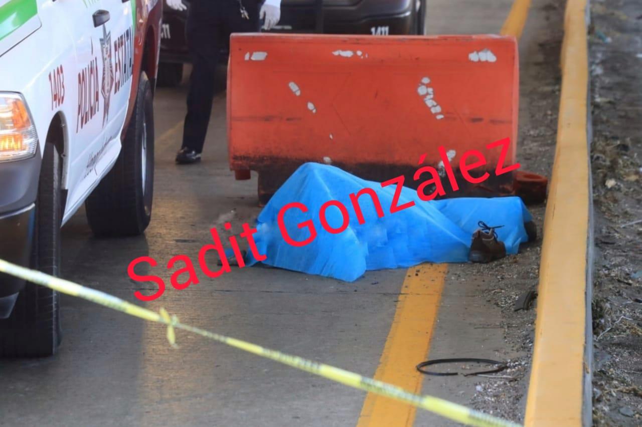 Atropellan y matan a un hombre sobre la México-Puebla