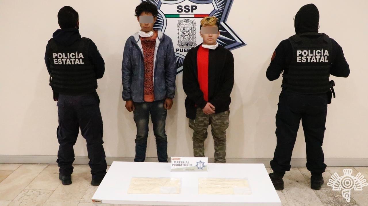 """Detiene Policía Estatal a presuntos distribuidores de droga de """"La Comadre"""""""