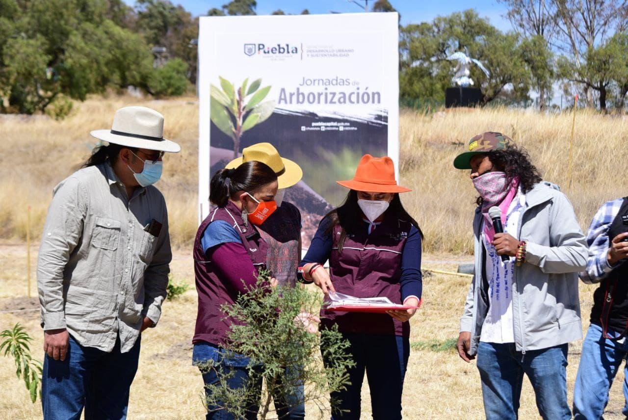 Ayuntamiento de Puebla da banderazo a Jornadas de Arborización 2021