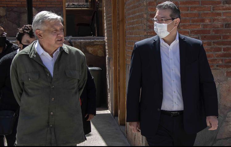 Presidente AMLO y Marco Mena inauguran primera etapa de la universidad Benito Juárez en Xaltocan