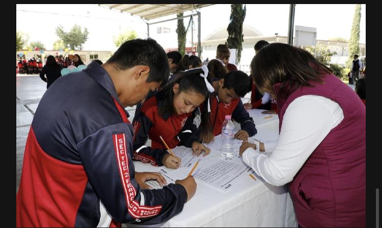 Ayuntamiento de Puebla fomenta la participación ciudadanía con más de 500 estudiantes del municipio