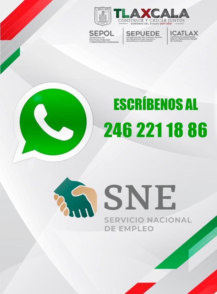 Activa Sepol-Sepuede número de whatsapp para asesorar a usuarios de programas