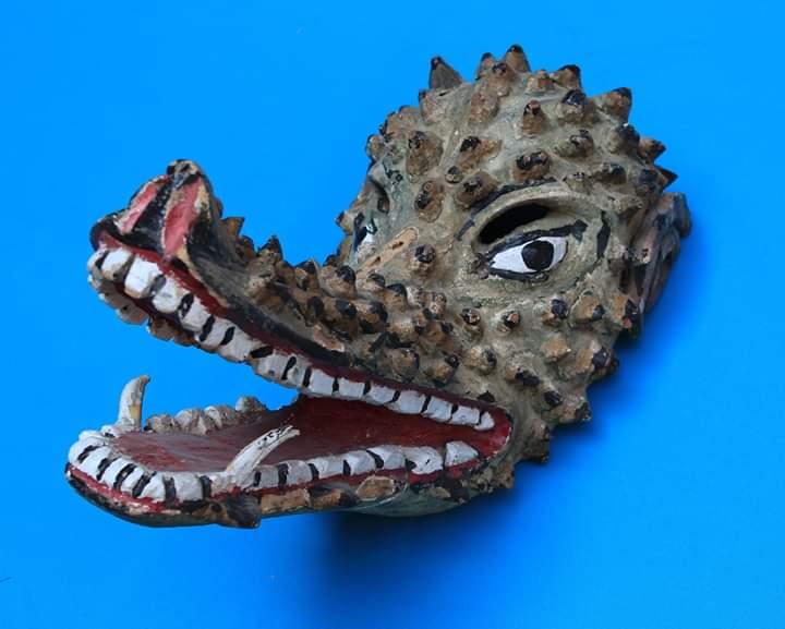 Máscaras de animales fantásticos en el Museo Nacional de la Máscara