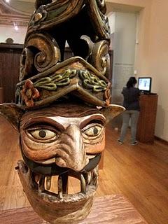 Máscara de Centurión en el Museo Nacional de la Máscara