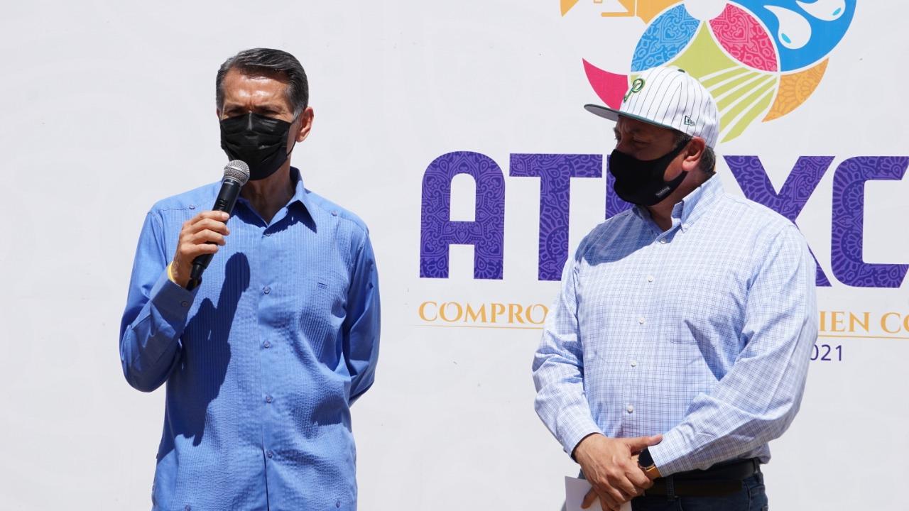 Colocan primera piedra de la academia de Béisbol de Pericos de Puebla