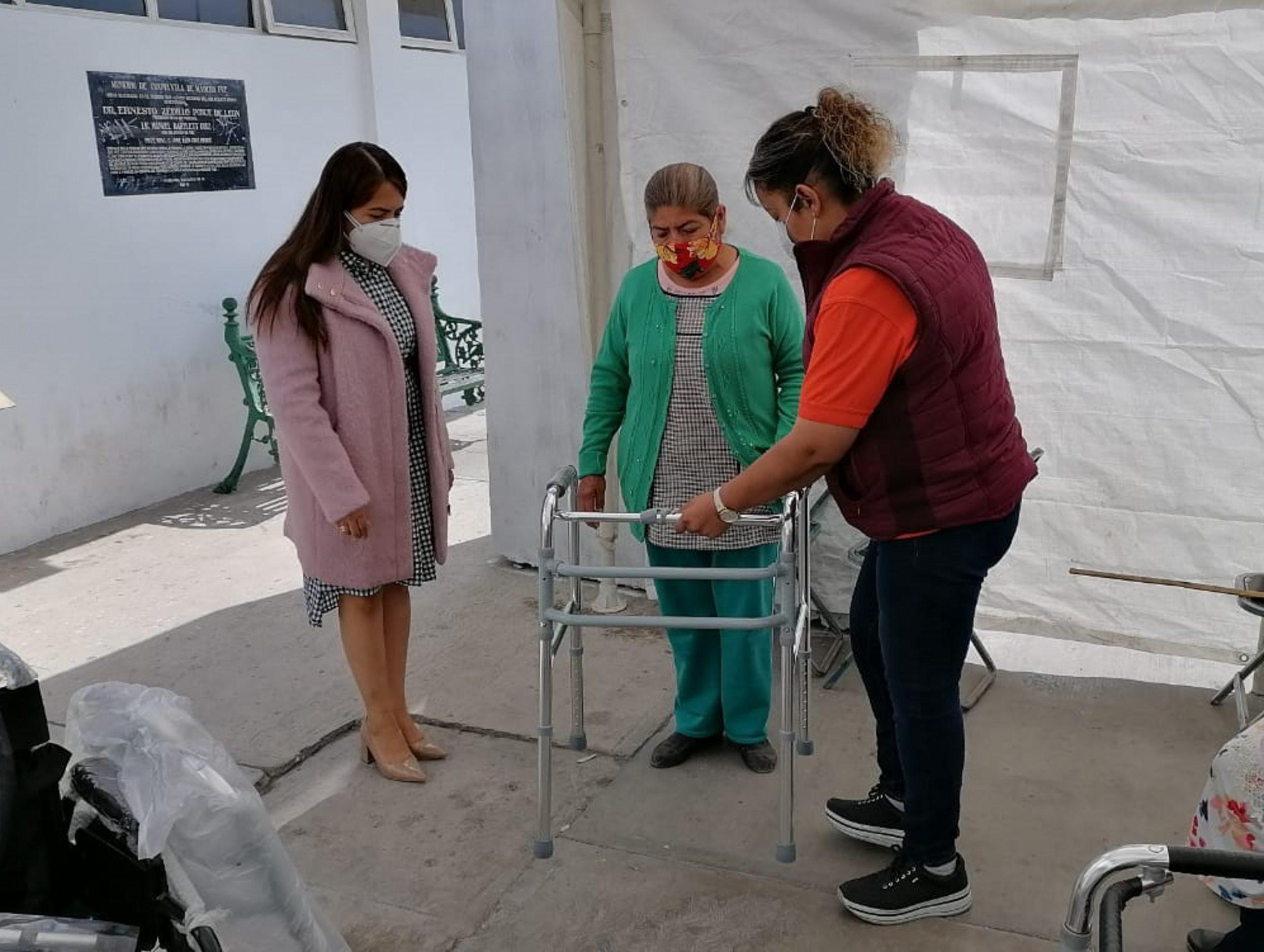 Con aparatos ortopédicos, SEDIF beneficia a población del interior del estado