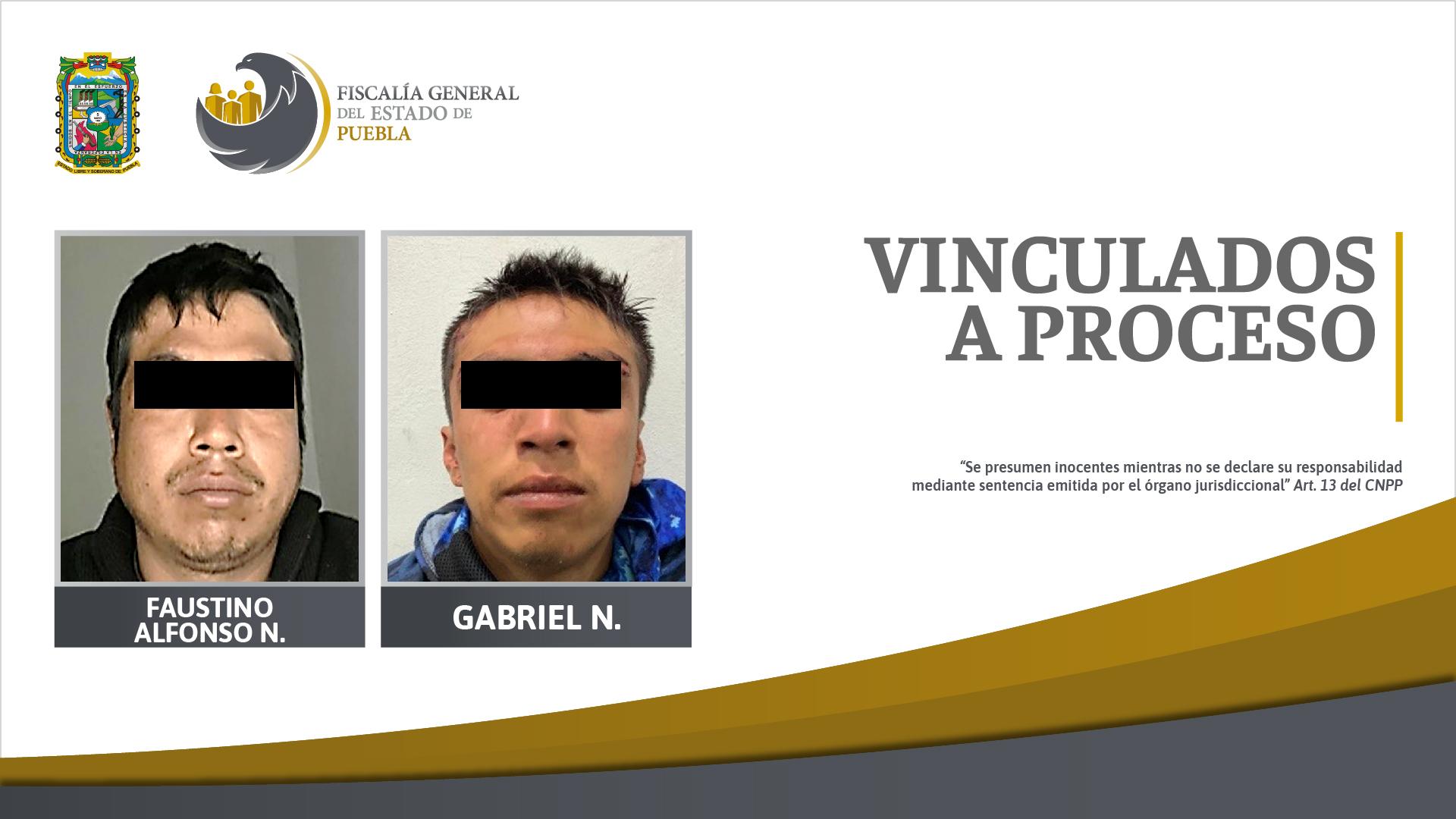 Detenidos por robo en Teteles, en prisión preventiva