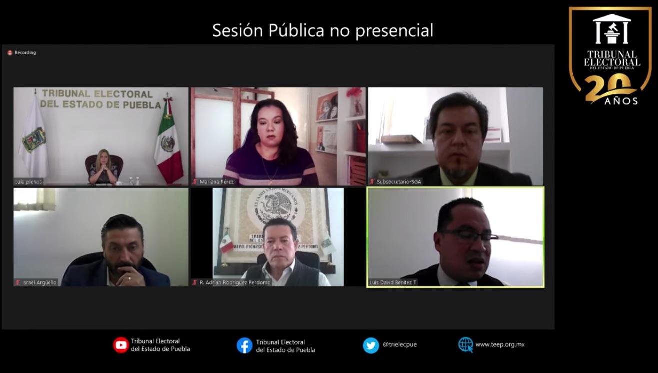 Tribunal Electoral de Puebla asesta revés al Instituto y le acusa de prejuzgar contra la presidenta Claudia Rivera Vivanco
