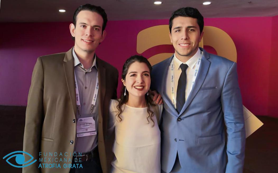 Estudiante UDLAP impulsó la primera fundación para atender Atrofia Girata en Latinoamérica