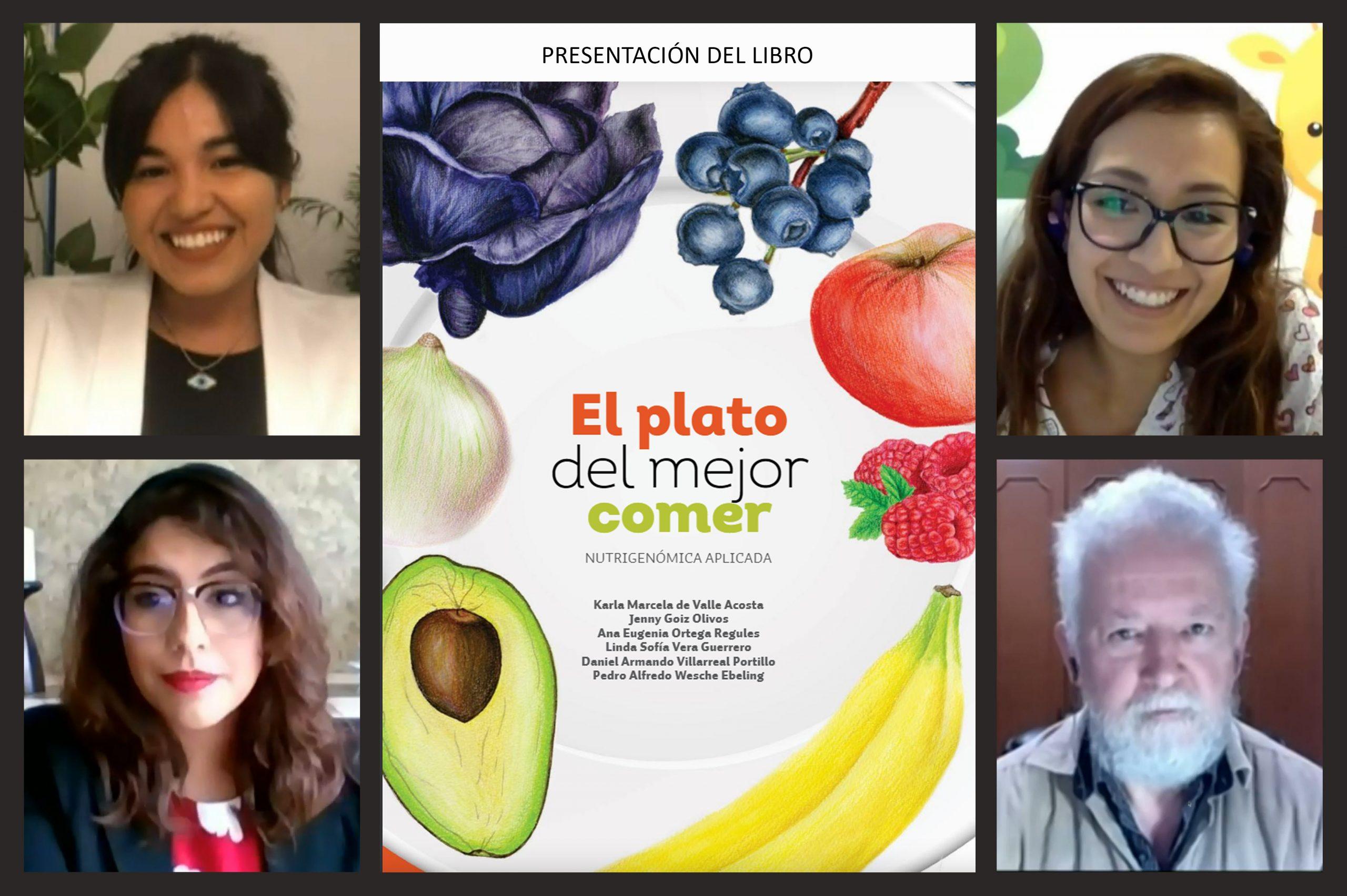 Egresados del Programa de Honores de la UDLAP proponen guía práctica para incluir alimentos que mejoren nuestra salud