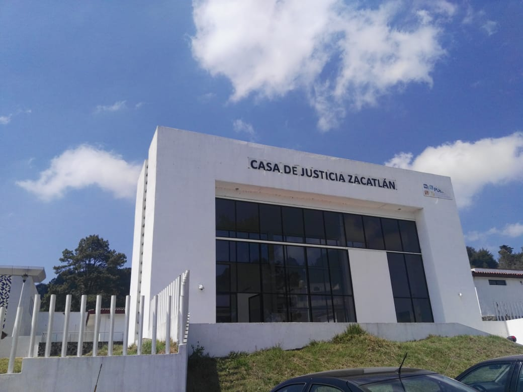 Juez Francisco Pérez Castillo tiene la Casa de Justicia de Zacatlán sin audiencias en varios meses