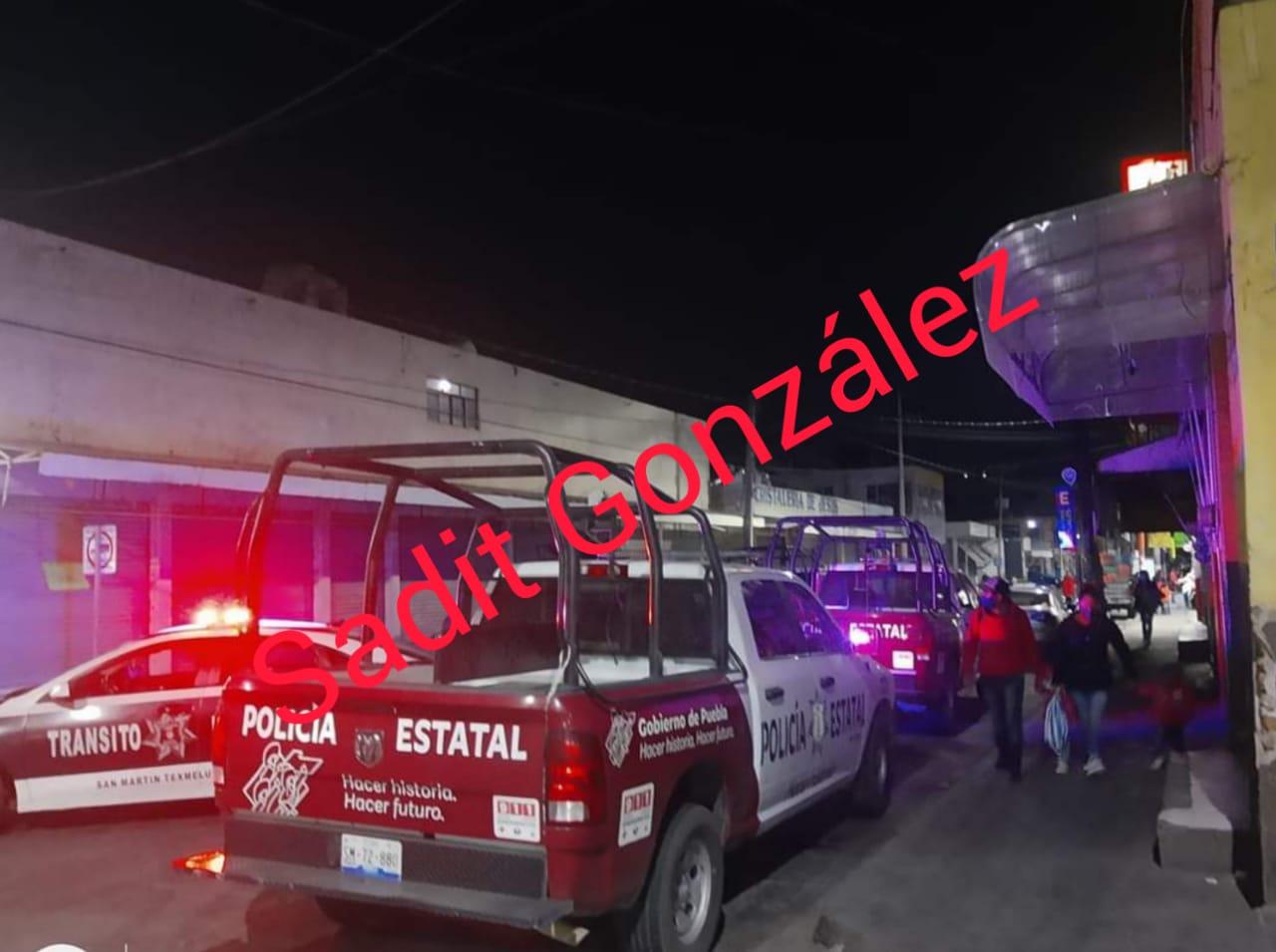 San Martín Texmelucan es tierra de nadie; ejecutan a varón dentro de un mercado