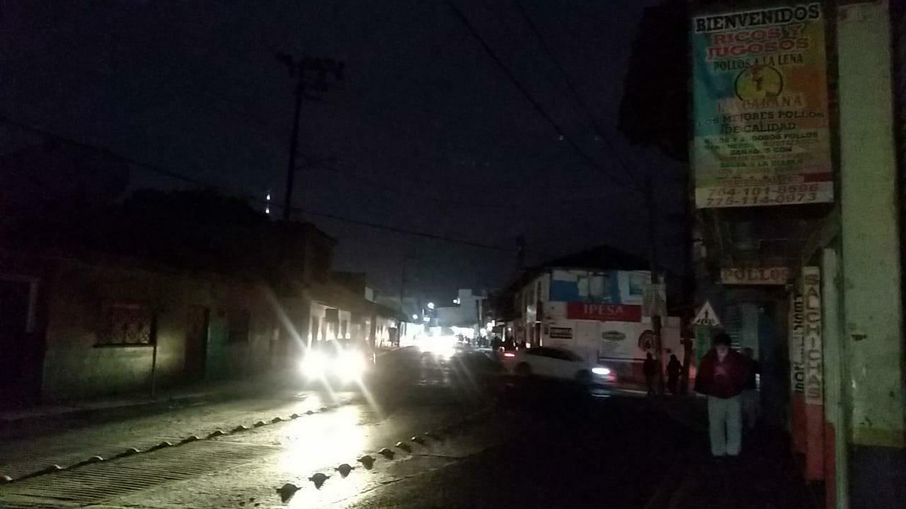 Este martes se registraron apagones en Puebla capital, incluyendo las colonias Cerrito, Bugambilias y Leobardo Coca